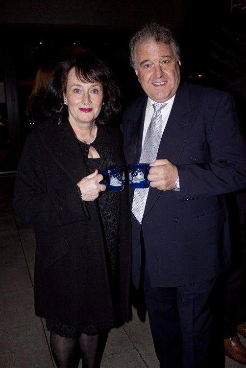 Hoteldirektor Komm.-Rat Franz Schlatter mit Margarethe.