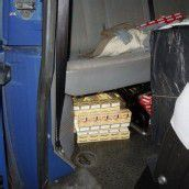 200.000 Zigaretten beschlagnahmt