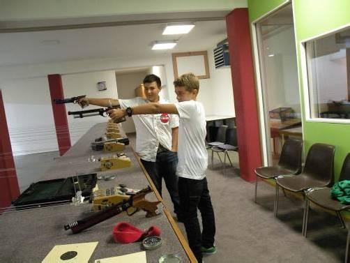 In Eigenregie verwirklichten die Schützen ihr Sportheim. Foto: eh