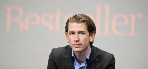 Integrationsstaatssekretär Sebastian Kurz (ÖVP). Foto: apa