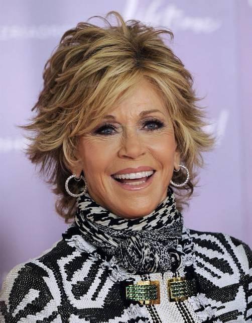 Jane Fonda ist zweifache Oscar-Preisträgerin. Foto: AP