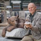 Berliner Zoo setzte Knut ein Denkmal aus Bronze