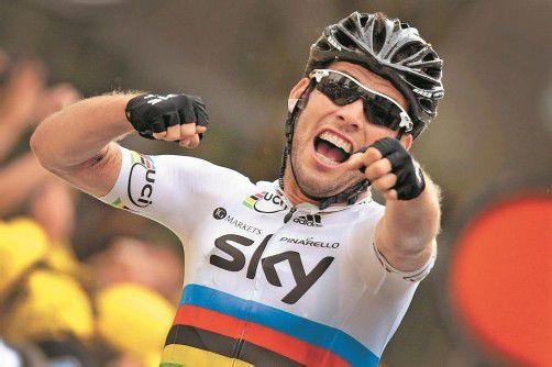 Jubelt nicht mehr für das Sky-Team: Mark Cavendish. Foto: apa