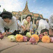 Trauer um früheren König in Kambodscha