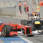 Ferrari bläst zum Angriff