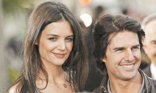 Katie Holmes reichte nach fünf gemeinsamen Ehejahren im Juni die Scheidung von Tom Cruise ein. Foto: AP