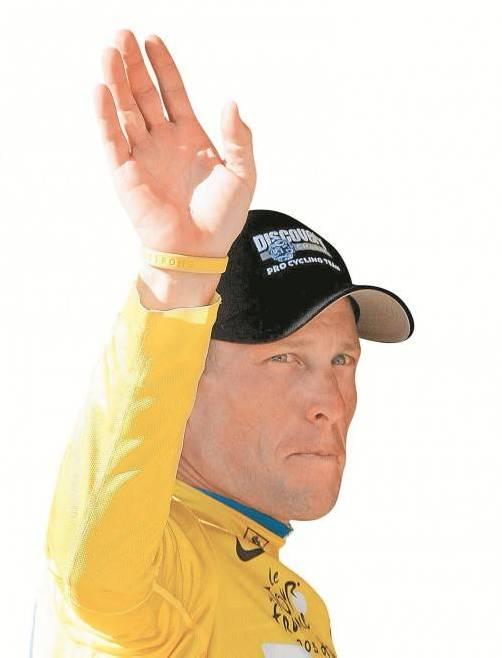 Lance Armstrong Foto: Ap