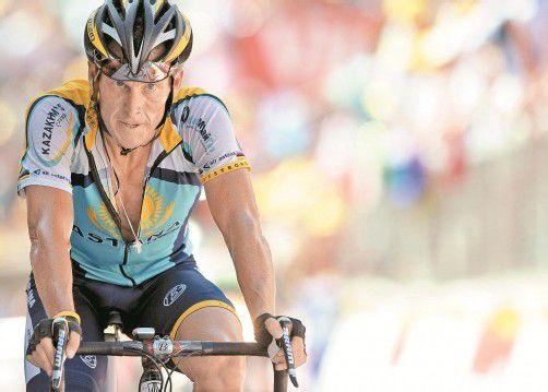 """Lance Armstrong unterhielt laut Dopingermittler Travis Tygart das """"höchstentwickelte Dopingprogramm, das die Sportwelt gesehen hat."""" Foto: ap"""