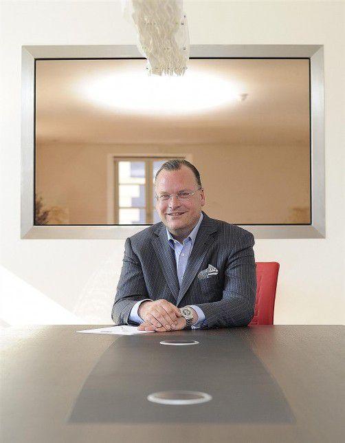 Ein Bild aus besseren Tagen: Der Financier und Gründer der Money Service Group, Michael Seidl, flog hoch und fiel tief. Foto: Volksblatt