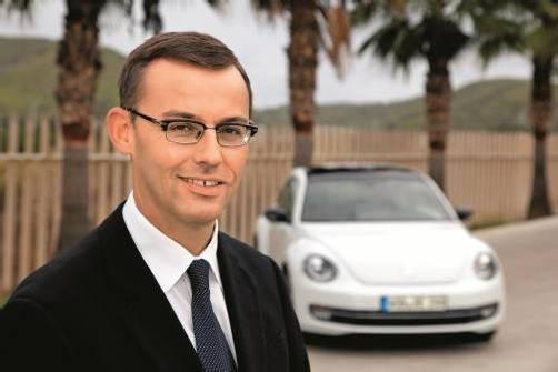 Lenkt die Geschicke der Porsche-Holding: Alain Favey (44). Foto: Porsche