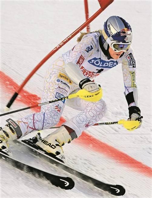 Lindsey Vonn gilt auch in dieser Saison als die große Favoritin auf den Sieg im Ski-Weltcup. Foto: ap