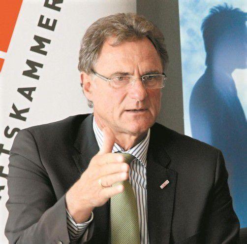 Manfred Rein fordert die Politik zu Taten auf. Foto: VN