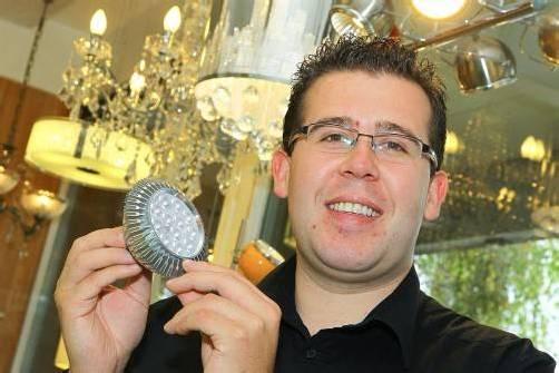 "Marcel Siller: ""Professionelle Beratung steht an erster Stelle."" Fotos: VN/Hofmeister"