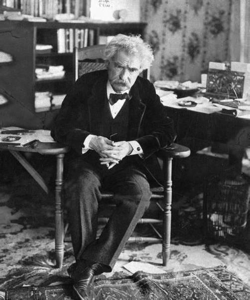 Mark Twain Foto: AP