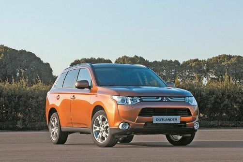 Marktstart für den neuen Mitsubishi Outlander. Die dritte Generation ist dank Leichtbau um rund 100 Kilogramm leichter. Foto: werk