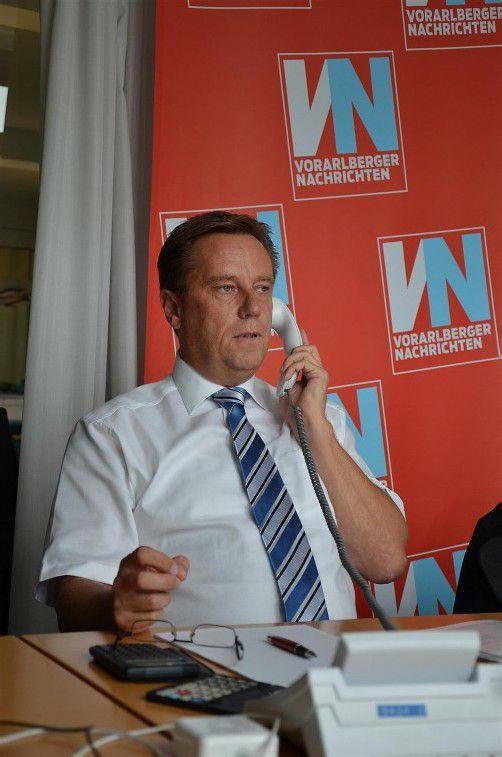 Markus Salzgeber gibt heute am VN-Telefon Tipps. Foto: VN