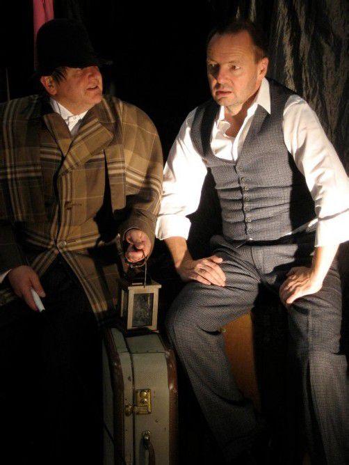 Martin Sommerlechner und Tristan Jorde spielen mit den Nerven des Publikums. foto: veranstalter