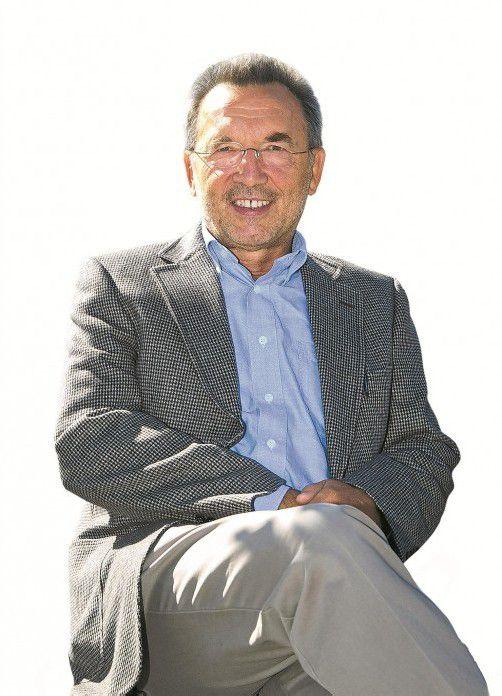 Meinrad Pichler ist Autor des Vorarlberg-Bandes.  vn/paulitsch