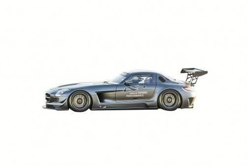 Mercedes bringt zum 45. Geburtstag von AMG ein Sondermodell des SLS.