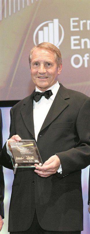 Michael Loacker nahm den Preis in Wien entgegen. Foto: Ernst&Young