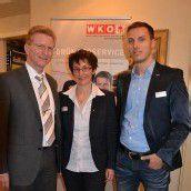Michael Morscher (l.) sowie Petra Ammann und Peter Flatscher.