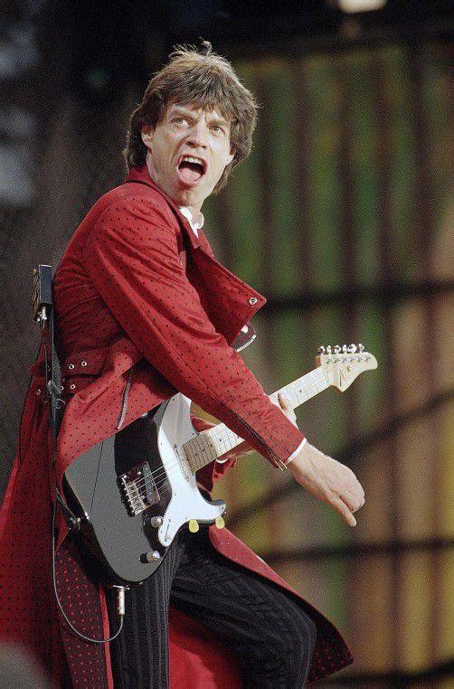Mick Jagger kündigt weitere Stones-Konzerte an. Foto: AP