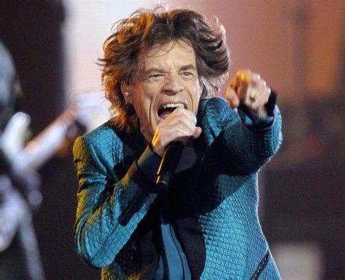 Mick Jagger zählte auch zu den Interviewpartnern der Autorin. Foto: AP