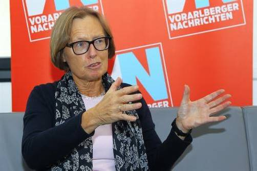 """Moser im VN-Interview: """"U-Ausschuss hat einen Selbstreinigungsprozess in der Politik ermöglicht:"""" Foto: Vn/HB"""