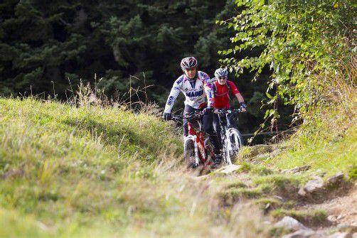 Mountainbiken ist eine der beliebtesten Sportarten der Vorarlberger.