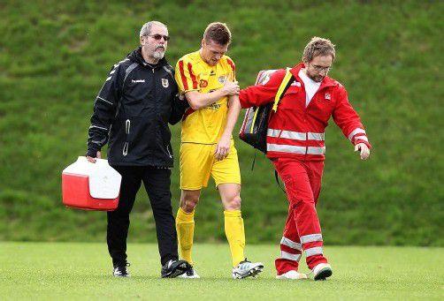 Musste mit einer Armverletzung ins Spital: Patrick Schäfer. gepa