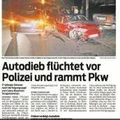 Diebes-Pärchen hielt die Polizei kräftig auf Trab