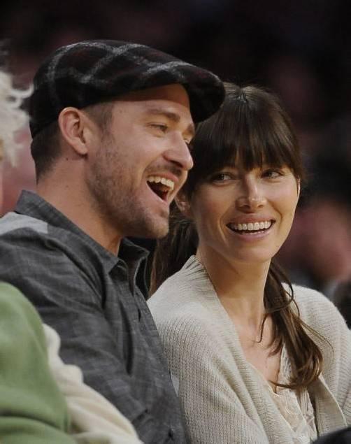 """Nach fünf Jahren """"wilder Ehe"""" gaben sich Justin Timberlake und Jessica Biel das Ja-Wort. Fotos: REUTERS, AP"""