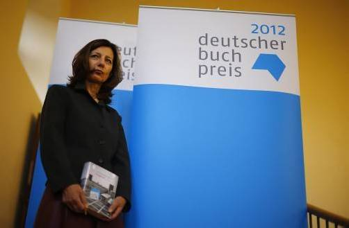 Neue Buchpreisträgerin Ursula Krechel. Foto: DPAd