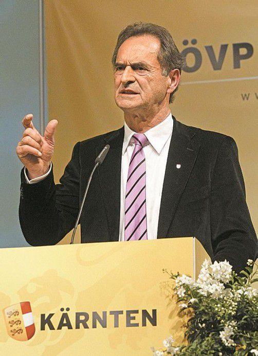 Neuer ÖVP-Kärnten-Chef: Gabriel Obernosterer. Foto: APA