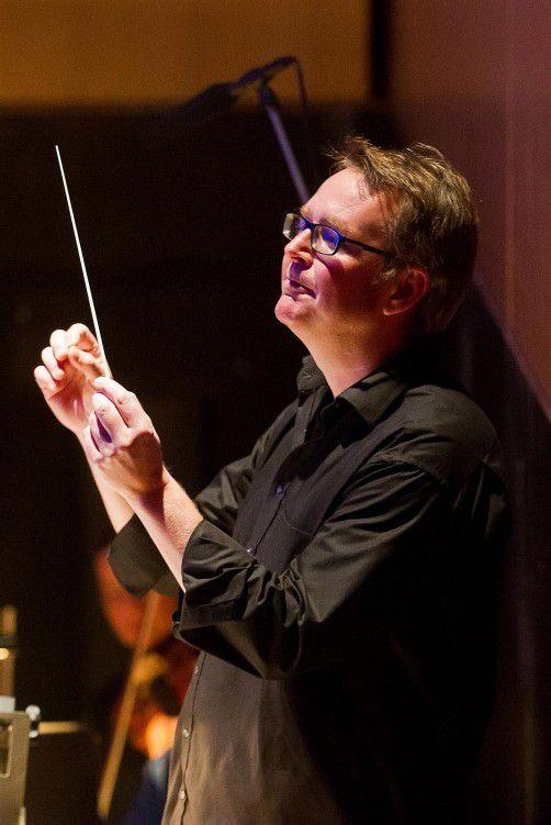 """Nikolaus Netzer dirigiert ab heute die Aufführungen von Mozarts """"Don Giovanni"""" in der Kulturbühne AMBACH in Götzis. Foto: VN/Steurer"""