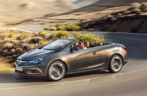 Opel zeigt erste Fotos des neuen Cabrios Cascada. Foto: werk