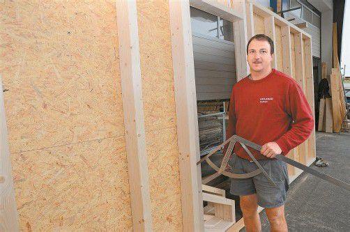 Paul Rauch legt großen Wert auf Qualität. Gegründet hat er das Unternehmen 2006. Heute beschäftigt die Firma sechs Mitarbeiter.  Fotos: vn/gasser