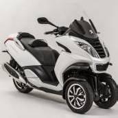 Peugeot auch mit drei Rädern