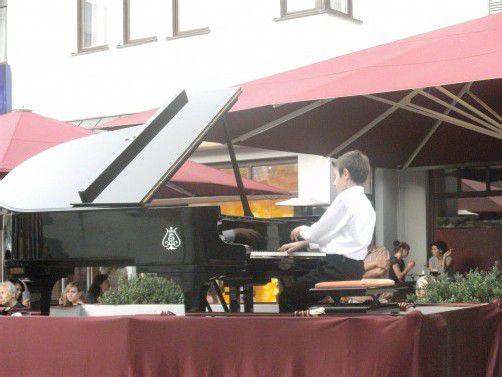 Pianist Gabriel Meloni Foto: Meloni