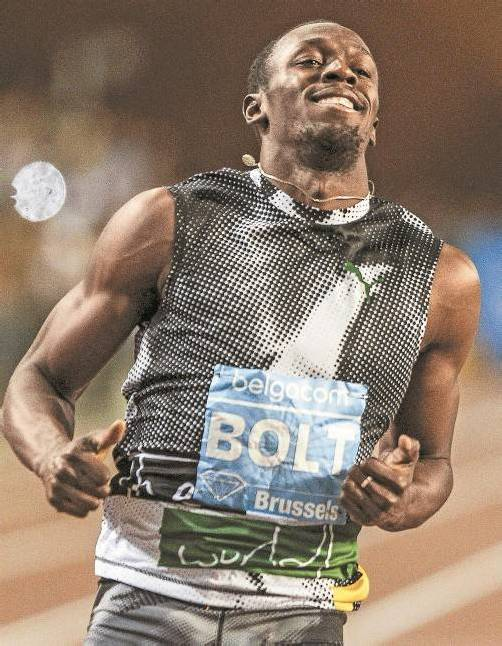 Plant den nächsten Gold-Clou: Usain Bolt. Foto: ap