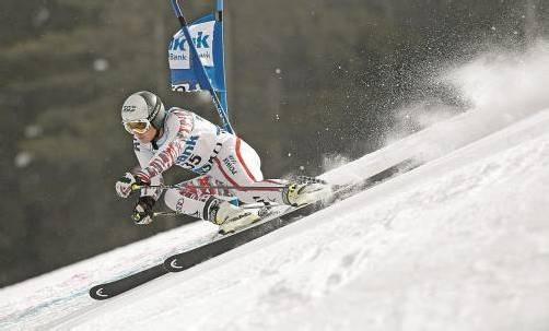 Platz drei beim Riesentorlauf in Bansko – Marcel Mathis fuhr in der vergangenen Saison mitten in die Weltklasse. Fotos: GEPA (4)