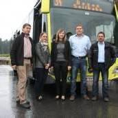 Im Bregenzerwald sind neue Busse unterwegs