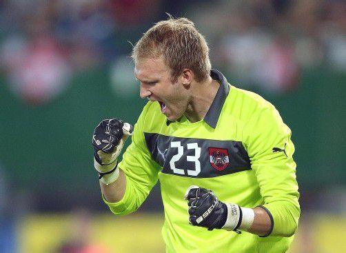Robert Almer bleibt die Nummer eins im ÖFB-Team. Foto: apa