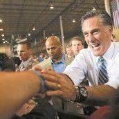Romney hat laut Umfragen gute Chancen, zu gewinnen. Foto: RTS