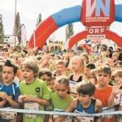 Ein Feuerwerk an Laufbegeisterung bei 3700 Kindern