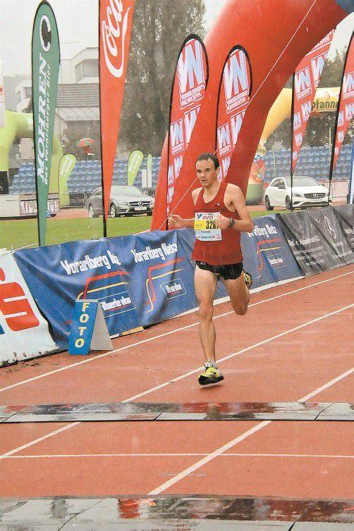 Schnellster Vorarlberger im Halbmarathon war Patrick Spettel.
