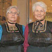 Schwestern: Herta Sohm (l.) und Anna Bertolini.