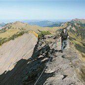Erholung in der herbstlich-schönen Bergwelt
