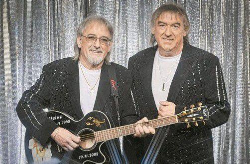 """Sie sind das derzeit erfolgreichste Duo des deutschen Schlagers: Karl-Heinz und Bernd Ulrich (r.), besser bekannt als """"Die Amigos"""". Foto: Band"""