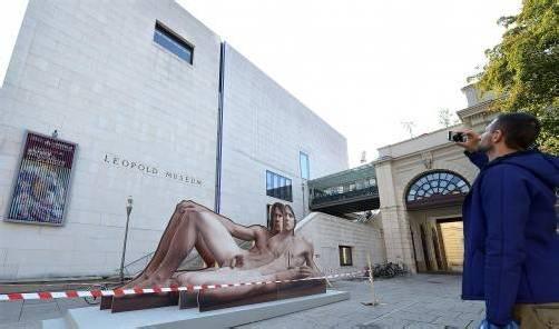 """Skulptur """"Mr. Big"""" der Künstlerin Ilse Haider. Foto: APA"""